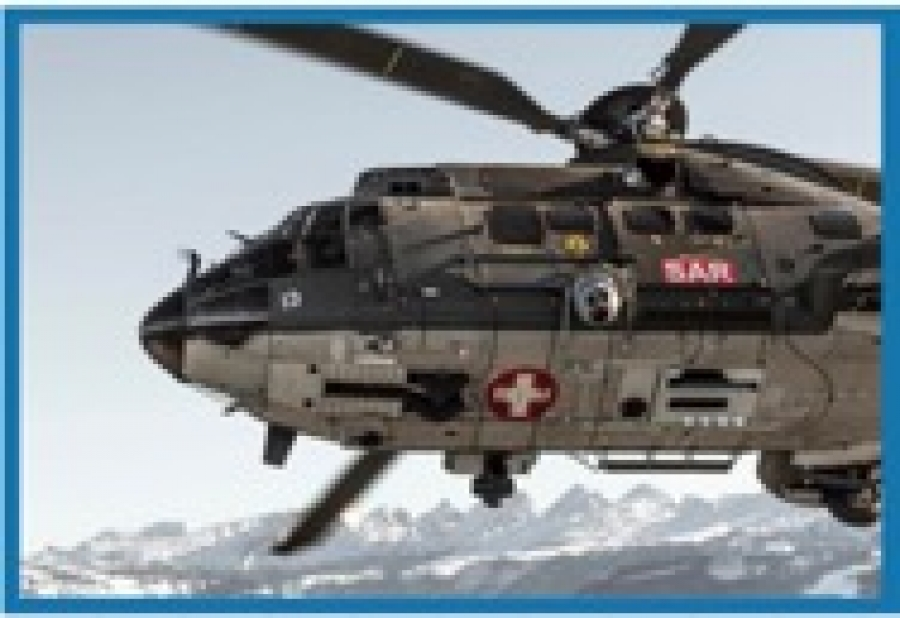 Salvata dalla Swiss Air Force con il Lifeseeker